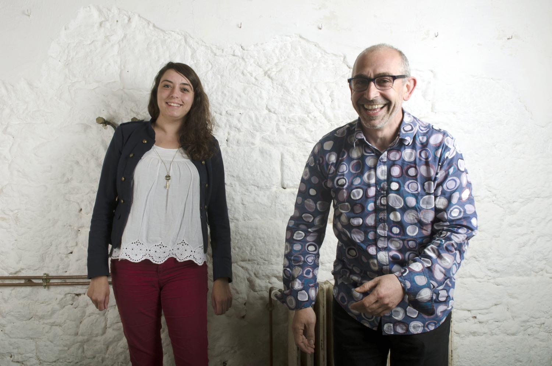 Le duo d'architecte de l'atelier-RK. Noémie Collet et Jean-Pierre Rodrigues